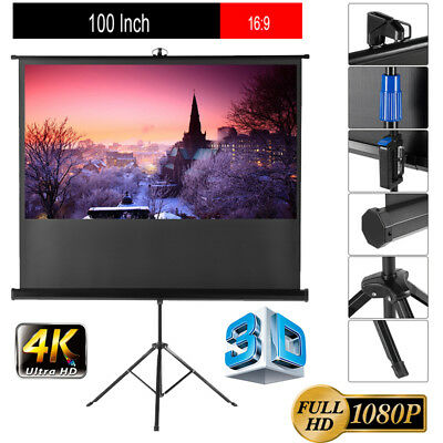 """120"""" 16:9 WallCeiling Electric Motorized LED LCD DLP Projector Projection Screen"""