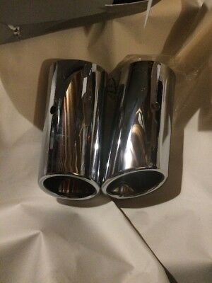 Genuine Audi A1 & A3, Stainless Steel Exhaust Tip / SGR Tailpipe - 8J0-071 761