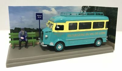 Atlas Editions 1:43 French Commercial Citroen Type Hz Excursion Bus Nib