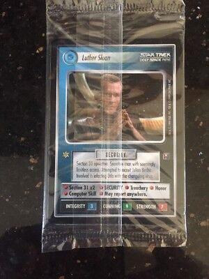 Star Trek ccg, Second Anthology, Factory Sealed Set Of 6 Promo Cards