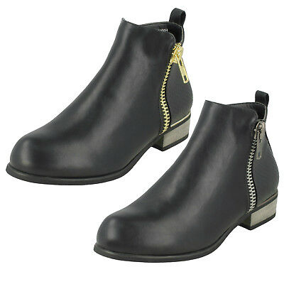 Wholesale Girls Ankle Boots / 14 Pairs / Sizes 10-2 / H5068