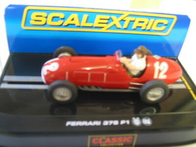 Collectable Scalextric C2803 Ferrari 375 F1 #12 Excellent Run Once