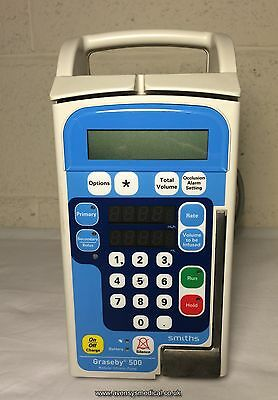 Graseby 500 Volumetric Infusion Pump (Fully functional with warranty)