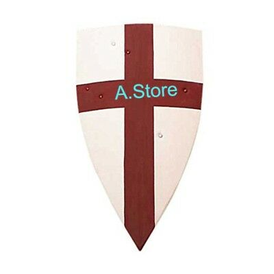 Crusader Medieval Shield Full Size Armor Costume One Size