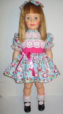 "1959-60 Ideal  36"" Patti Playpal Doll, Honey Blonde Hair, Blue Eyes"