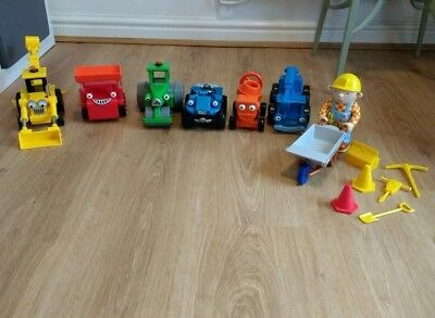 bob the builder toys bundle in good used condition.