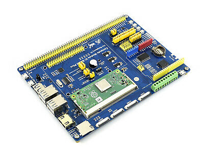 Compute Module IO Board Plus,Composite Breakout Board for Raspberry Pi CM3, CM3L