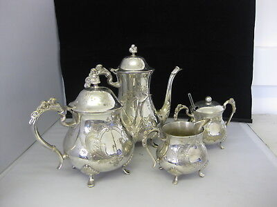 Tea and Coffee Set Silver Plated