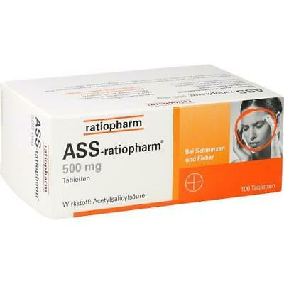 ASS ratiopharm 500 mg Tabletten 100 St 03416422