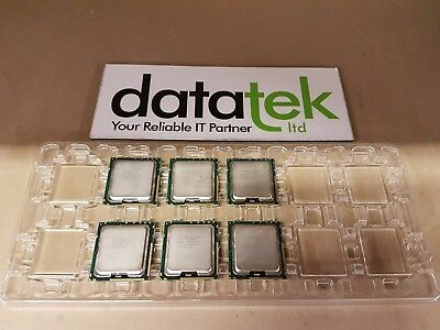 **JOB LOT** 6x INTEL XEON X5667 3.06GHz 12MB QUAD CORE CPU - SLBVA