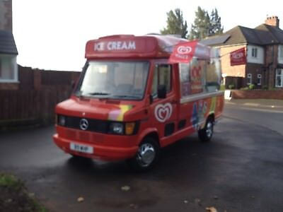 Mercdes 207D Cummins Full Cowl Ice Cream Van