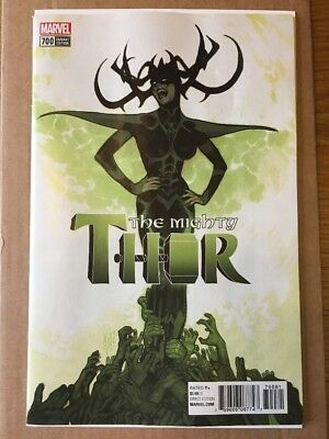 Mighty Thor # 700  Adam Hughes 1:100 Variant Legacy Cover  2017