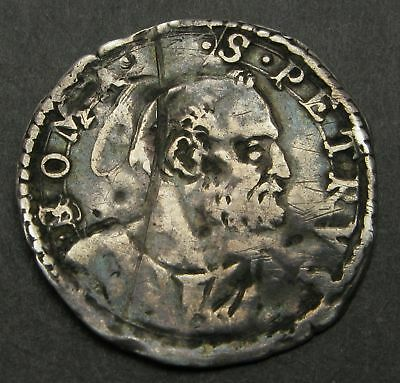 PAPAL STATES 1 Grosso ND - Silver - Clement VIII (1592-1605) - 314