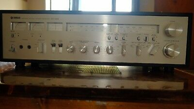 Vintage Yamaha Cr-1020 Am/fm Stereo Receiver 70 Watts @ 8Ω