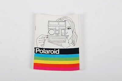 Original Vintage Polaroid 600 landcam Film Camera Guide Manual Instruction Book