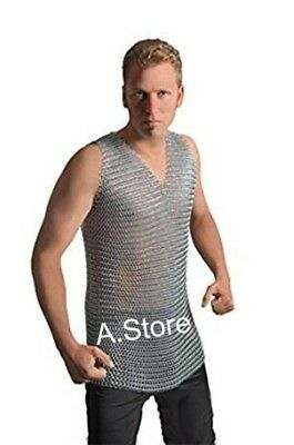 Armor Medieval Chainmail Steel Butted Shirt One Size