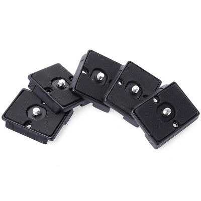 5pcs Quick Release Plate For Manfrotto 200PL-14 496RC2 498RC2 486RC 804RC2 DC464