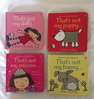 Thats Not My Books X 4: