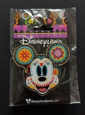 Exclusive Disneyland Paris Pin Mexican Mickey Mouse face.