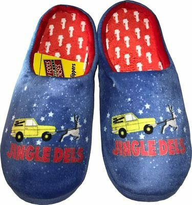 Only Fools and Horses Official JINGLE DELS Christmas Slippers