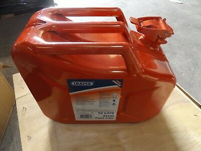 Draper Red 10 Litre Jerry Can 54466
