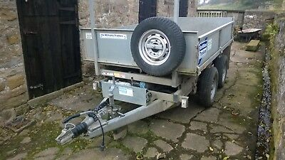 trailer tipper ifor williams hardly used 8x5
