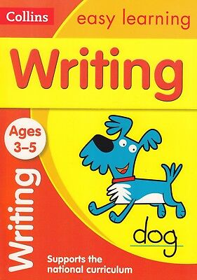 Collins Easy Learning Writing Ages 3-5 Preschool BRAND NEW BOOK (Paperback 2015)