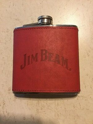 Jim Beam Bourbon Flask