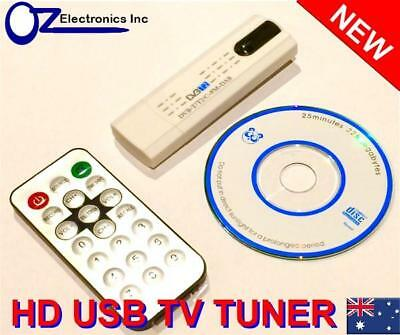 USB HDTV TV tuner for Windows 10 Australia DVB-T PC Record digital TV REMOTE