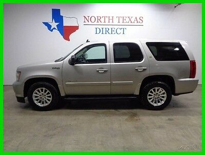 2008 Chevrolet Tahoe GPS Navigation Leather Heated Seats 2008 GPS Navigation Leather Heated Seats Used 6L V8 16V Automatic SUV OnStar