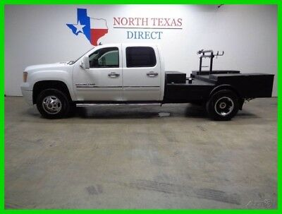 2011 GMC Sierra 3500 DRW Denali 4WD Welding Rig Bed Leather Heated and 2011 DRW Denali 4WD Welding Rig Bed Leather Heated and  Used Turbo 6.6L V8 32V