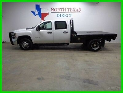 2010 Chevrolet Silverado 3500 Crew 6.6 Duramax Flat Bed 1 Texas Owner 2010 Crew 6.6 Duramax Flat Bed 1 Texas Owner Used Turbo 6.6L V8 32V Automatic