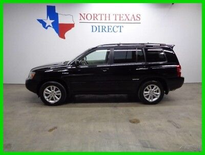2006 Toyota Highlander Limited Leather Heated Seats Sunroof 2006 Limited Leather Heated Seats Sunroof Used 3.3L V6 24V Automatic SUV
