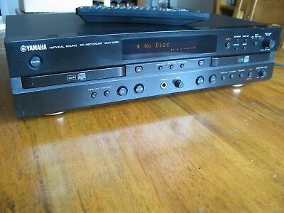 Yamaha 'Natural Sound' CDR-D651 CD Player- Recorder & Remote Control