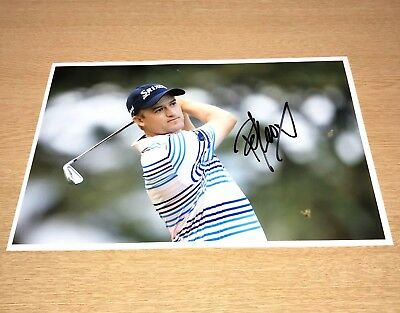 SALE RUSSELL KNOX GOLF HAND SIGNED PHOTO AUTHENTIC GENUINE + COA - 12x8
