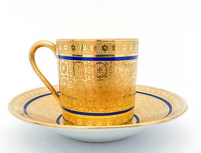 Cup & Saucers - Limoges / Raynaud & Co