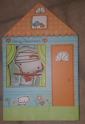 Penny Paperheart Paper Girl Plush Play Set Hallmark Book Kid Clothes Doll Gift