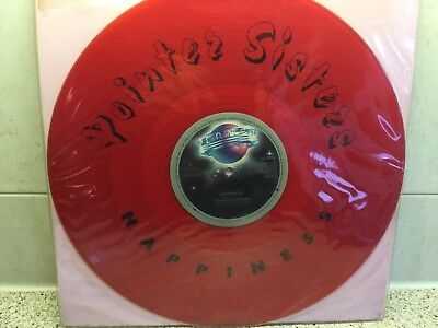 Pointer Sisters - 'Happiness' on Red Vinyl