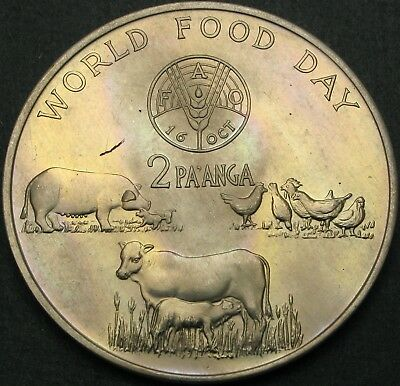 TONGA 2 Paanga 1981 - FAO World Food Day - aUNC - 942 ¤