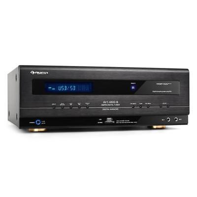 Auna Av1-4800 5.1 Surround Sound Receiver Amp Usb Sd Home Entertaintment