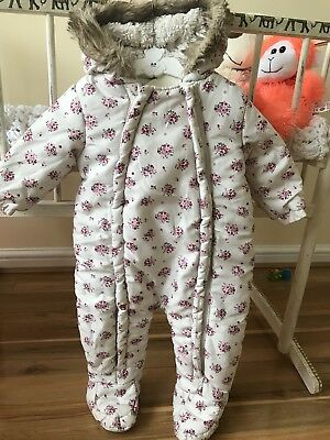 baby girl snowsuit 6-9 From F&F