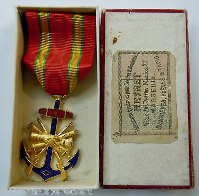 Medal Antique Combattants Colonials 1870/1900 Colonial Original French Medal