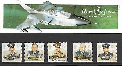 GB Commemorative Stamps RAF in presentation pack MINT unmounted 1986