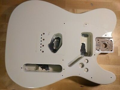 Genuine 2005 Fender Standard Telecaster Body Olympic White Made In Mexico