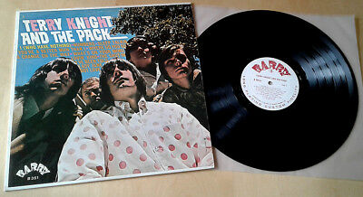 TERRY KNIGHT & PACK `Rare Garage Psych LP` BARRY LABEL Pre Grand Funk Railroad!!