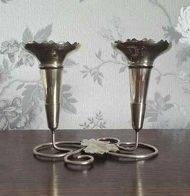 A Small Vintage Silver Plated Epergne