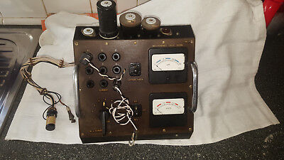Valve Tester Tube Tester Maybe Homebrew Ham Radio Qrp Hf Vhf No Power Supply