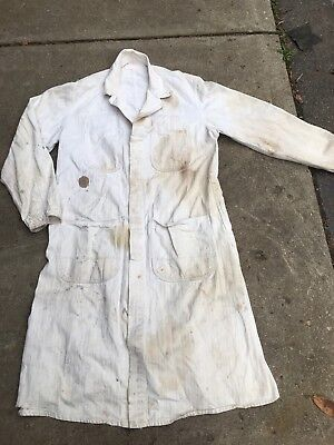 Outfit Coveralls Mechanic Attendant gas station Coverall Mfg 46 Marathon Detroit