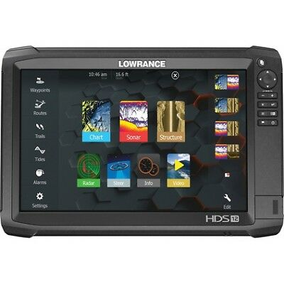 Lowrance HDS-12 Carbon Combo