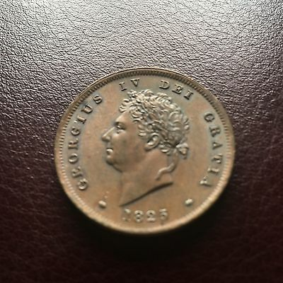 George Iv Penny 1825 Rare Gem Fabulous Unc Needs To Be Seen Two Day Offer